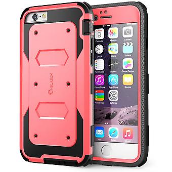 i-Blason-iPhone6-4.7-Armorbox Series Fullbody Protective Case-Pink