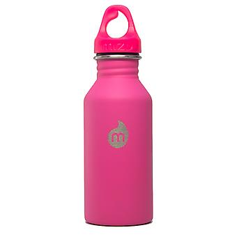 Mizu M4 400ml rustfrit stål flaske - Pink