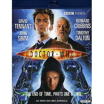 Doctor Who - Doctor Who: End of Time Pt. 1-2 [BLU-RAY] USA import