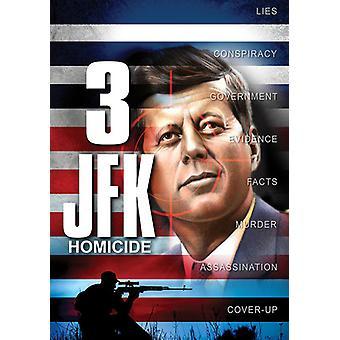 JFK drab [DVD] USA importerer