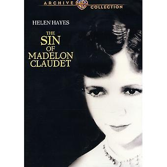 Synd for Madelon Claudet [DVD] USA import