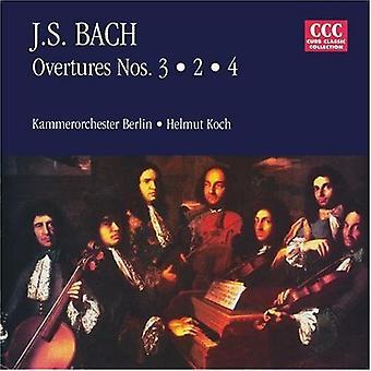 Johann SE Bach - Bach: Overtures Nos. 3, 2, 4 [CD] USA import