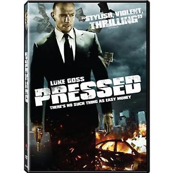 Pressede [DVD] USA importerer