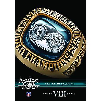 NFL Amerika spil: 1973 delfiner (Super Bowl VIII [DVD] USA import