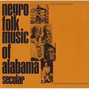 Negro Folk Music of Alabama - Negro Folk Music of Alabama: Vol. 1-Secular Music [CD] USA import