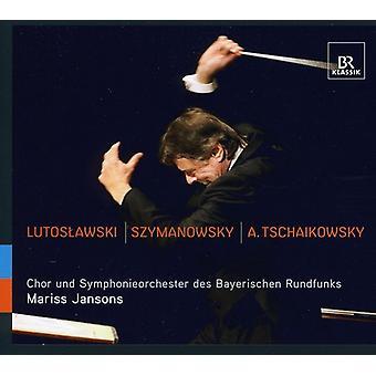 Tschaikowsky/Lustoslawski/Szymanowski - Mariss Jansons gennemfører Lutoslawski, Szymanowsky & Tchaikovsky [CD] USA import