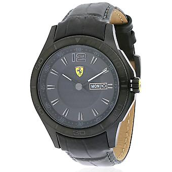 Ferrari Scuderia in pelle Mens Watch 0830093