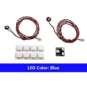 Brickstuff Blue Pico LED Light Board 2-Pack - LEAF01-PBL-2PK