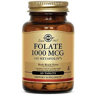 Solgar Folate 1000 mcg (as Metafolin) Tablets 120ct
