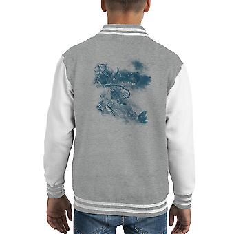 Keine Flucht Sea Monster Kid Varsity Jacket