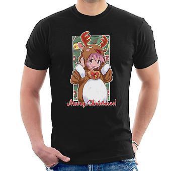 Madoka god jul Puella Magi Madoka Magica mäns T-Shirt