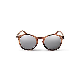 Cheapo Trestles Sunglasses - Brown / Silver Mirror