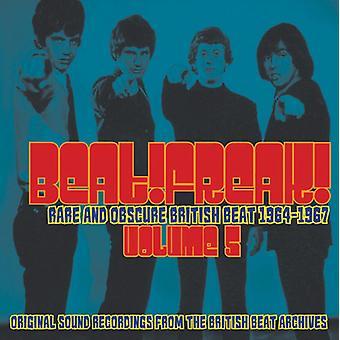 Forskellige kunstner - morgenmad 5: Sjældne & obskure britiske slå [CD] USA import