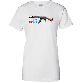 AK-47 Kalashnikov Assault Rifle - Ladies T Shirt