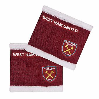 West Ham United FC Official Two Tone Wristbands