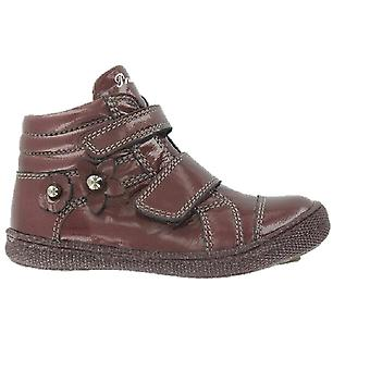 Primigi Girls Anne Boots Burgundy Patent