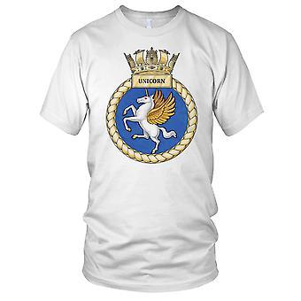 Royal Navy HMS Unicorn Mens T Shirt