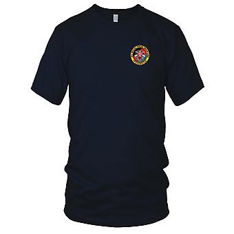 US Army - 20th Airborne Special Forces Group Afghanistan Embroidered Patch - Ladies T Shirt