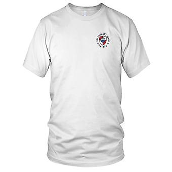 US Navy USS Douglas A Munro DE-422 MOH Embroidered Patch - Mens T Shirt
