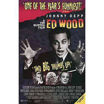 Ed Wood Movie Poster (11 x 17)