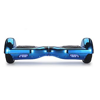 Blue Chrome Segway /Hoverboard / Swegway With Bluetooth