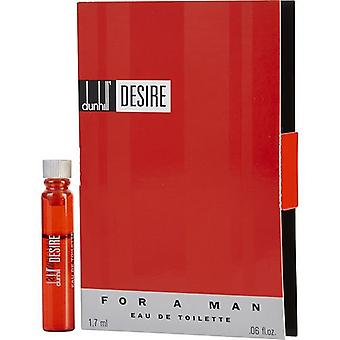 Desire By Alfred Dunhill Edt Vial On Card