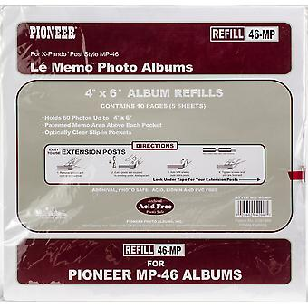 Pioneer 6-Up Refill Pages 6/Pkg-For Mp46 Photo Album 46MP
