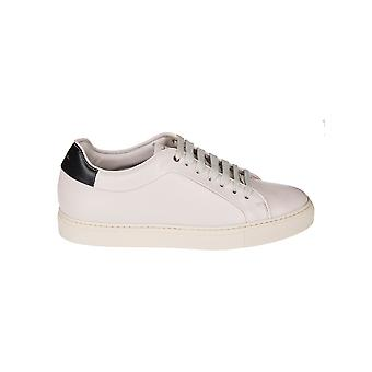 Paul Smith menns STPCR266LEA02 hvitt skinn joggesko