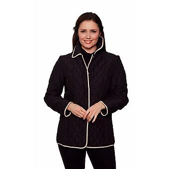 Womens microfibre jacket David Barry Style DB502