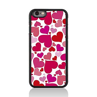 Call Candy Apple iPhone 7 Heart of Glass 2D Printed Case