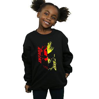 Marvel Mädchen Ant-Man und die Wespe Split Face Sweatshirt