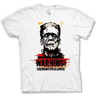 Mens T-shirt - Frankensteins Monster locker - lustig
