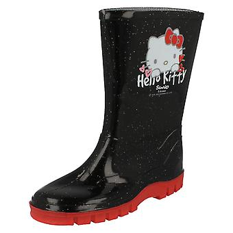 Girls Hello Kitty Wellingtons