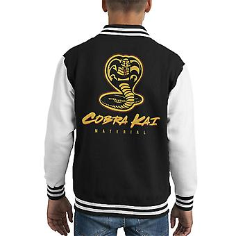 Cobra Kai materiale Karate Kid Kid's Varsity jakke