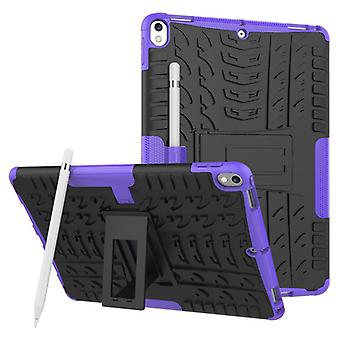 Hybrid outdoor protective cover case purple for Apple iPad Pro 10.5 2017 bag