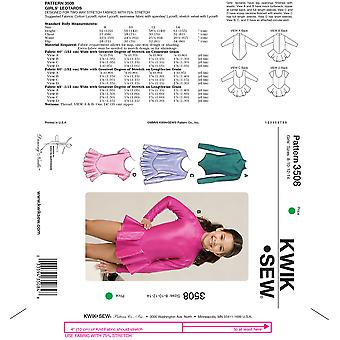 Leotards-8-10-12-14 -*SEWING PATTERN*