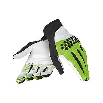 Dainese Black-Green-White 2014 Rock Solid-D MTB Gloves
