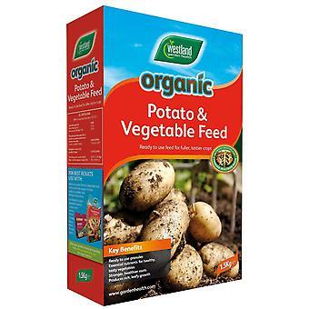Batata orgânica & vegetal alimentam 1,5 kg