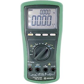 Greenlee DM-810A Handheld multimeter Digital CAT IV 1000 V Display (counts): 10000