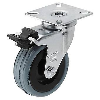 Swivel wheel 1 pc(s) Monacor GCB-75B 75 mm Load ca
