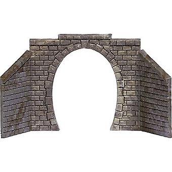 N Tunnel portal 1-track Assembled Busch