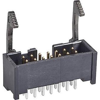 Tira TE conectividad Pin + largo cierre de espacio de contacto: Número Total de 2,54 mm de pines: 26 no. de filas: 2 1 PC
