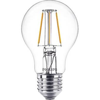 Philips Lighting LED EEC A++ (A++ - E) E27 Arbitrary 4 W = 40 W Warm white (Ø x L) 60 mm x 104 mm Filament 1 pc(s)