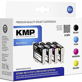 KMP Ink replaced Epson T0711, T0712, T0713, T0714 Compatible Set
