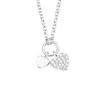 s.Oliver jewel children and teens necklace-silver heart 2022700