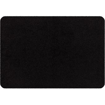 Salon lion mini Matt Black washable small foot mat
