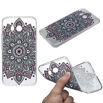 Henna cover for HTC U11 case protective cover silicone colorful tattoo
