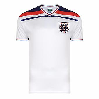 England FA Herre officielle 1982 World Cup finalen T-Shirt