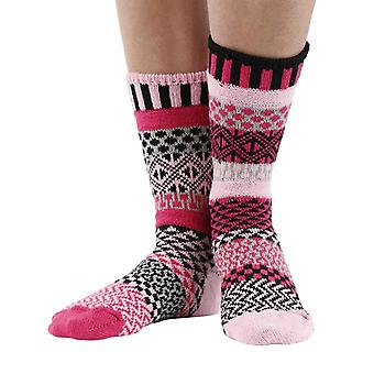 Venus recycled cotton multicolour odd-socks   Crafted by Solmate