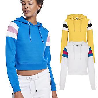 Urban classics ladies - sleeve stripe short Hoody